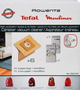 Moulinex / Rowenta / Tefal ZR003901 Stofzuigerzak origineel